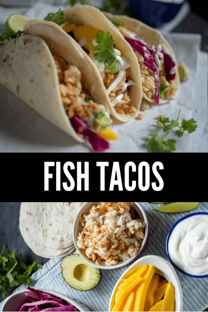 Fish Tacos with Lime Crema - Cardamom & Coconut