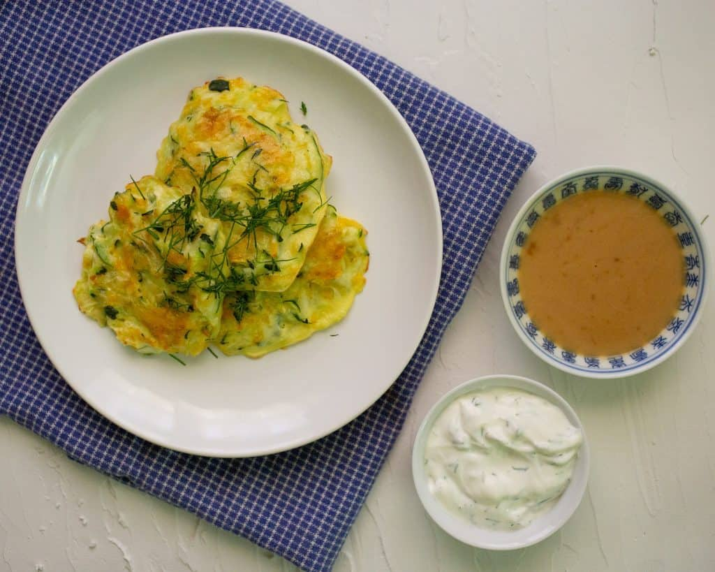 Easy Baked Zucchini Fritters