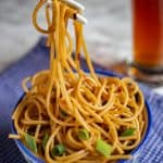 Ginger Scallion Noodles