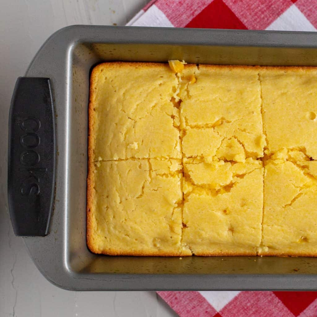 Easy Vegan Cornbread