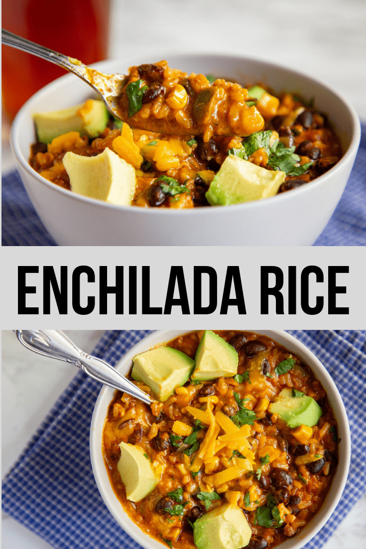 Instant Pot Enchilada Rice