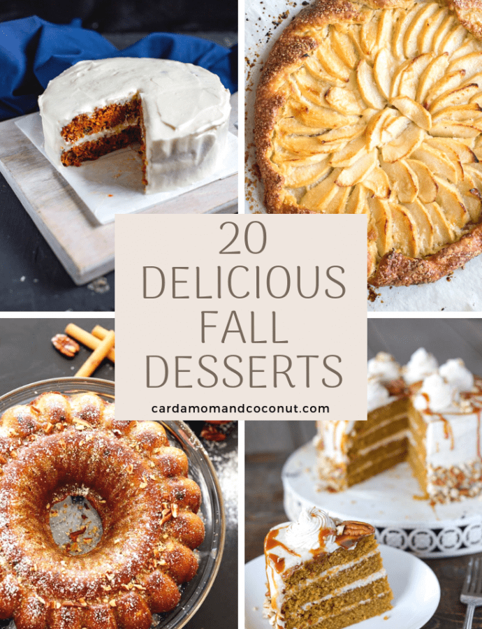 20 Desserts Perfect for Fall