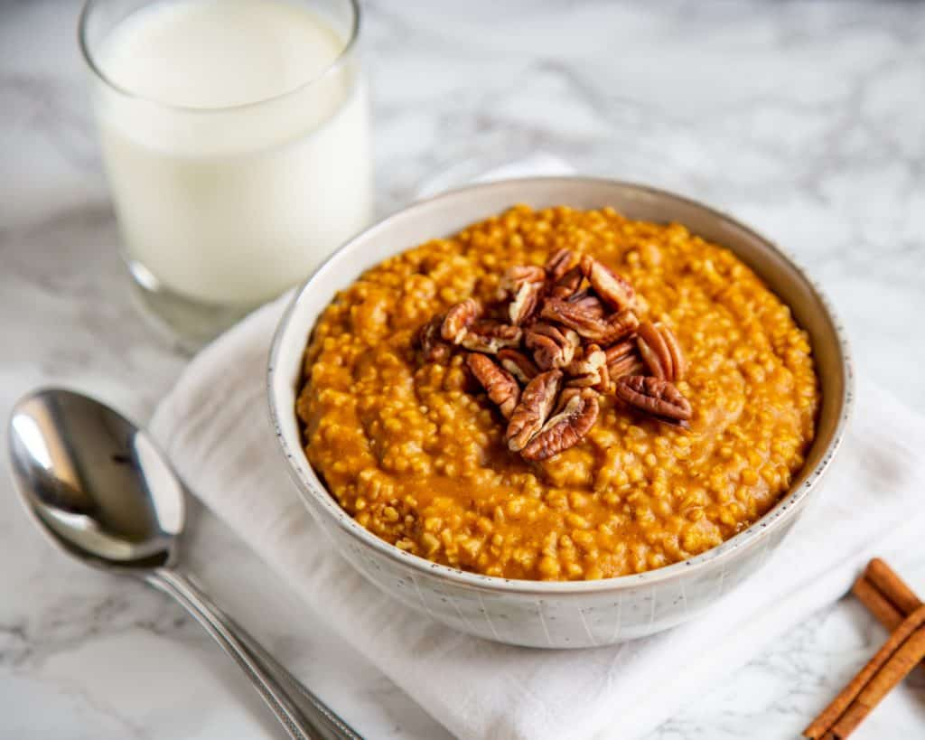Pumpkin Steel Cut Oats