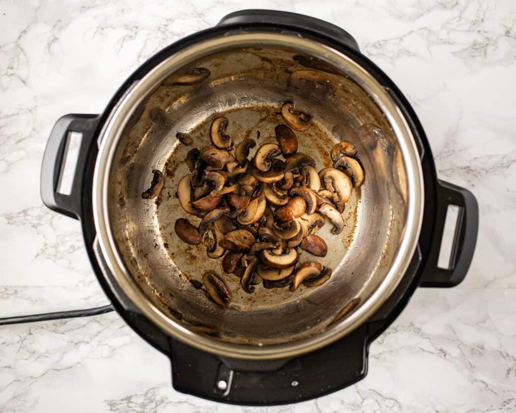 Instant Pot Mushroom Frittata