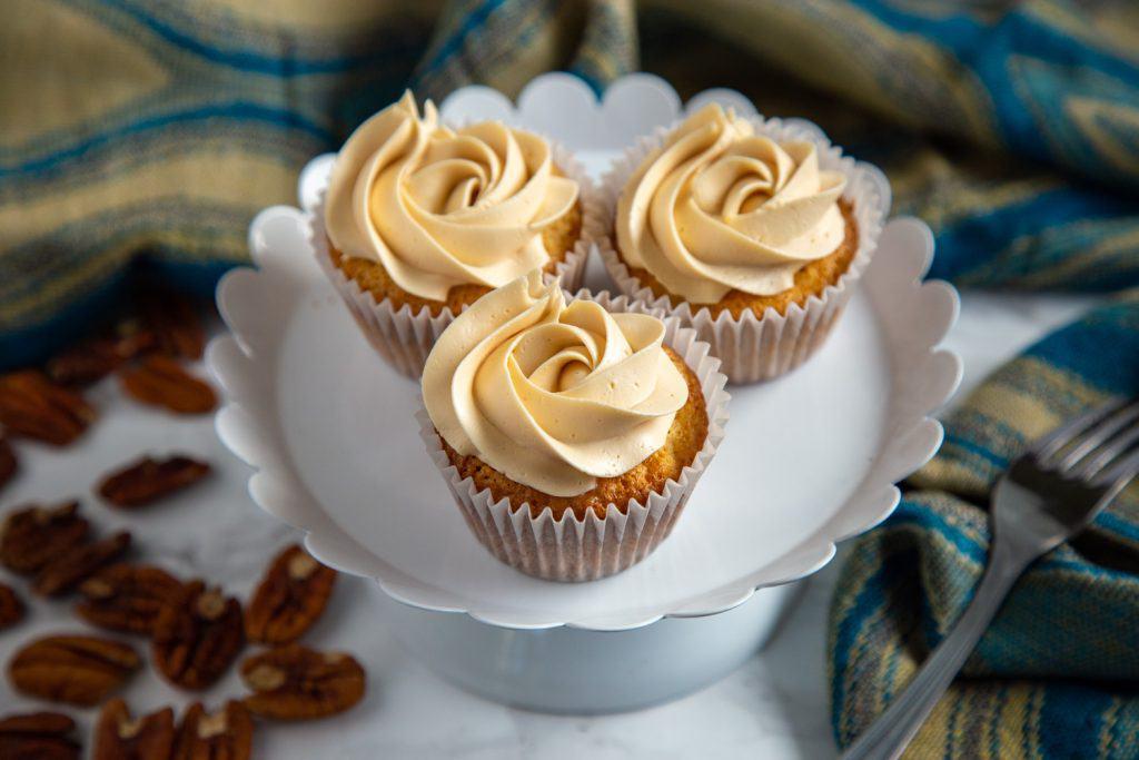 Caramel Honey Cupcakes