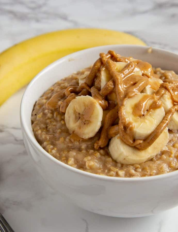 Instant Pot Banana Oatmeal