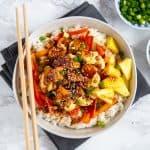 Asian Tofu Bowls
