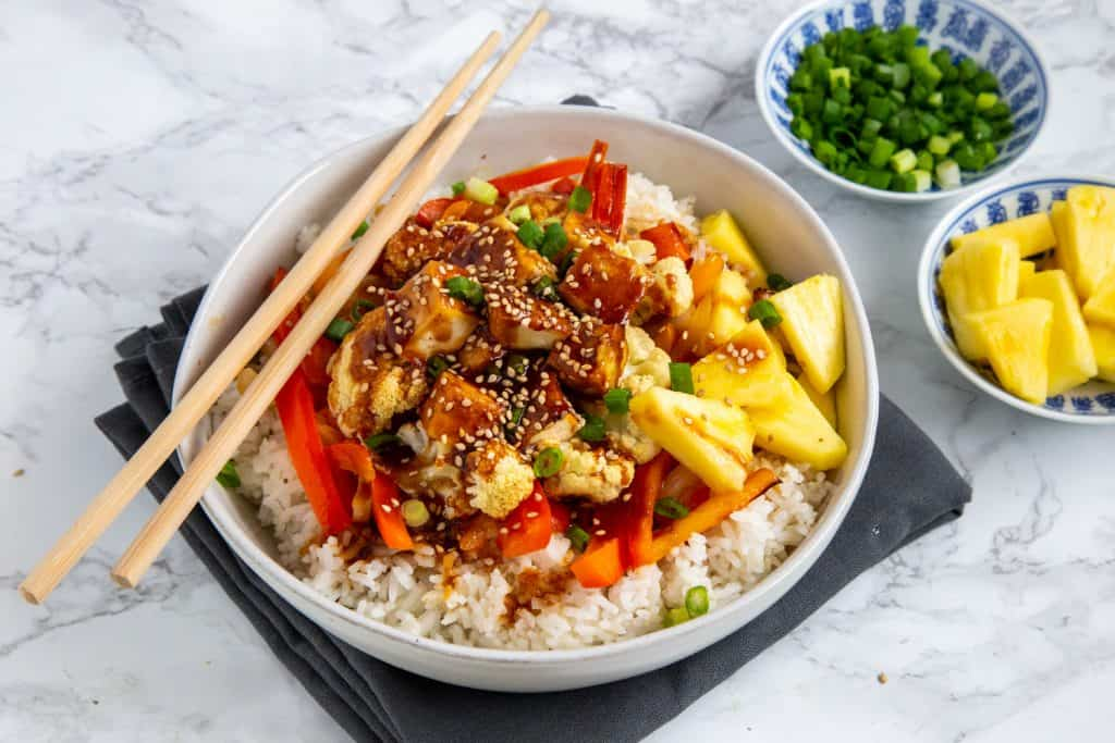 Asian Tofu Bowls