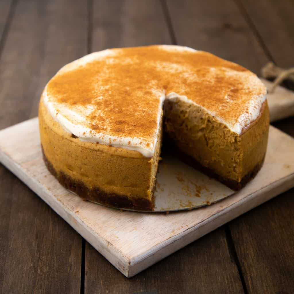 Instant Pot Pumpkin Cheesecake
